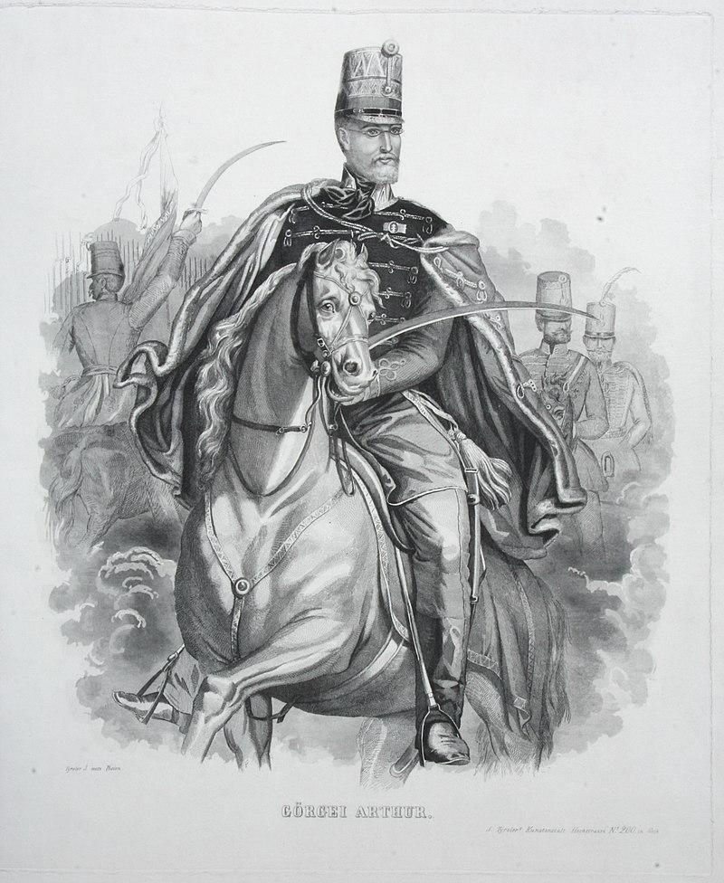 1849. március 31-én Görgei Artúr lett a forradalmi magyar csapatok fővezére
