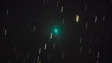 A C/2019 Y4 (ATLAS)-üstökös 2020. március 28-án Szolnokról.