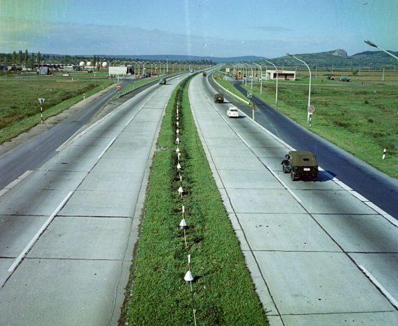 Autópálya 1968-ban