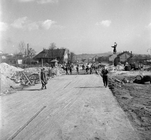 Épül az első magyar autópálya 1961-ben