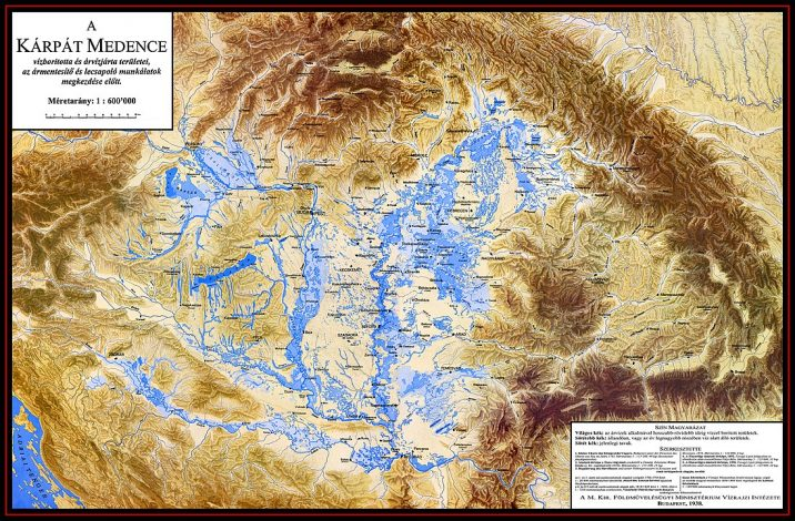 Az árvízvédelmi munkák előtt másképp nézett ki a térkép
