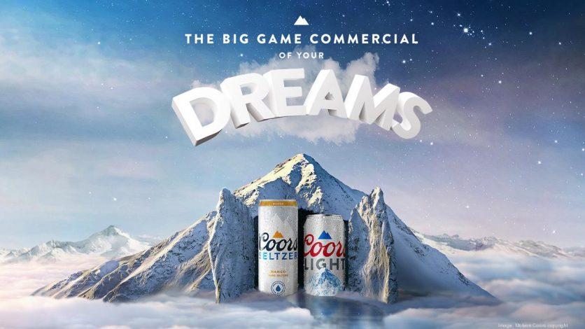 Az álomkeltetésre épülő reklámkampány egyik képe