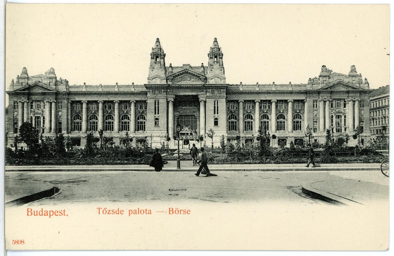 Boldog békeidők:Európa egyik legnagyobb épülete volt a tőzsdepalota