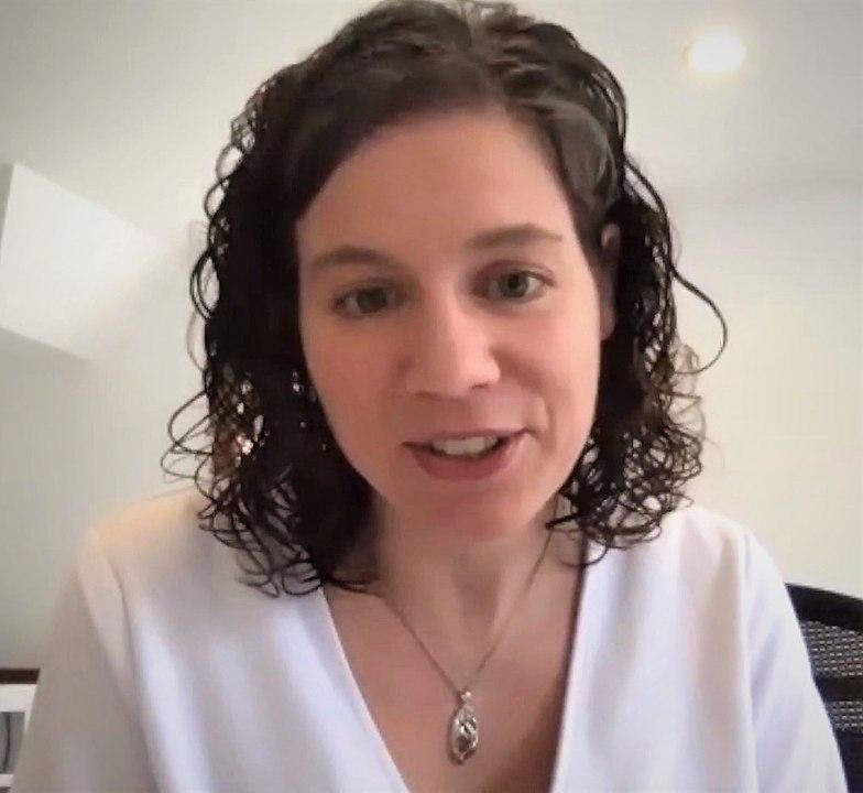 Karen Miga, a Telomérától Teloméráig konzorcium egyik megalapítója