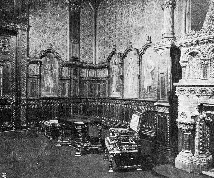 A Szent István-terem Párizsban (Vasárnapi Ujság, 1900. 17. sz.)