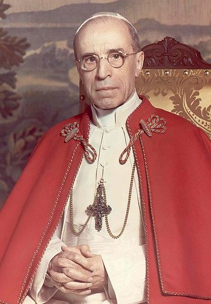 Giuseppe, Pacelli, XII. Piusz pápa