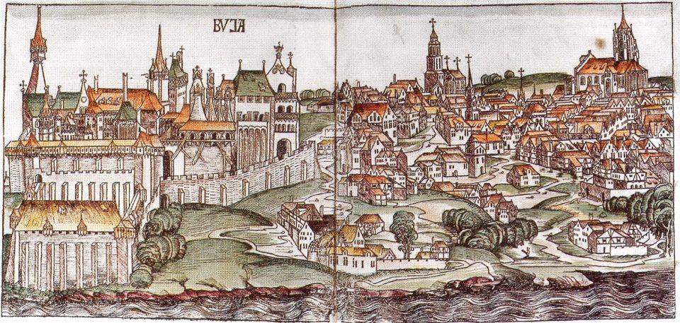 A középkor végi Buda