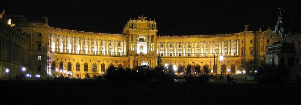 A bécsi Hofburg